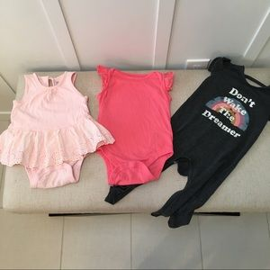 Gap and Jessica Simpson baby girl clothes